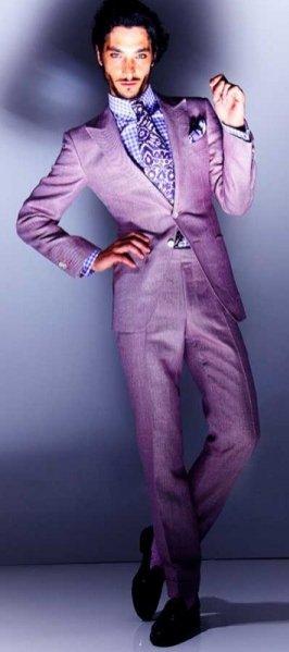 Lookbook męskiej kolekcji Tom Ford wiosna lato 2013