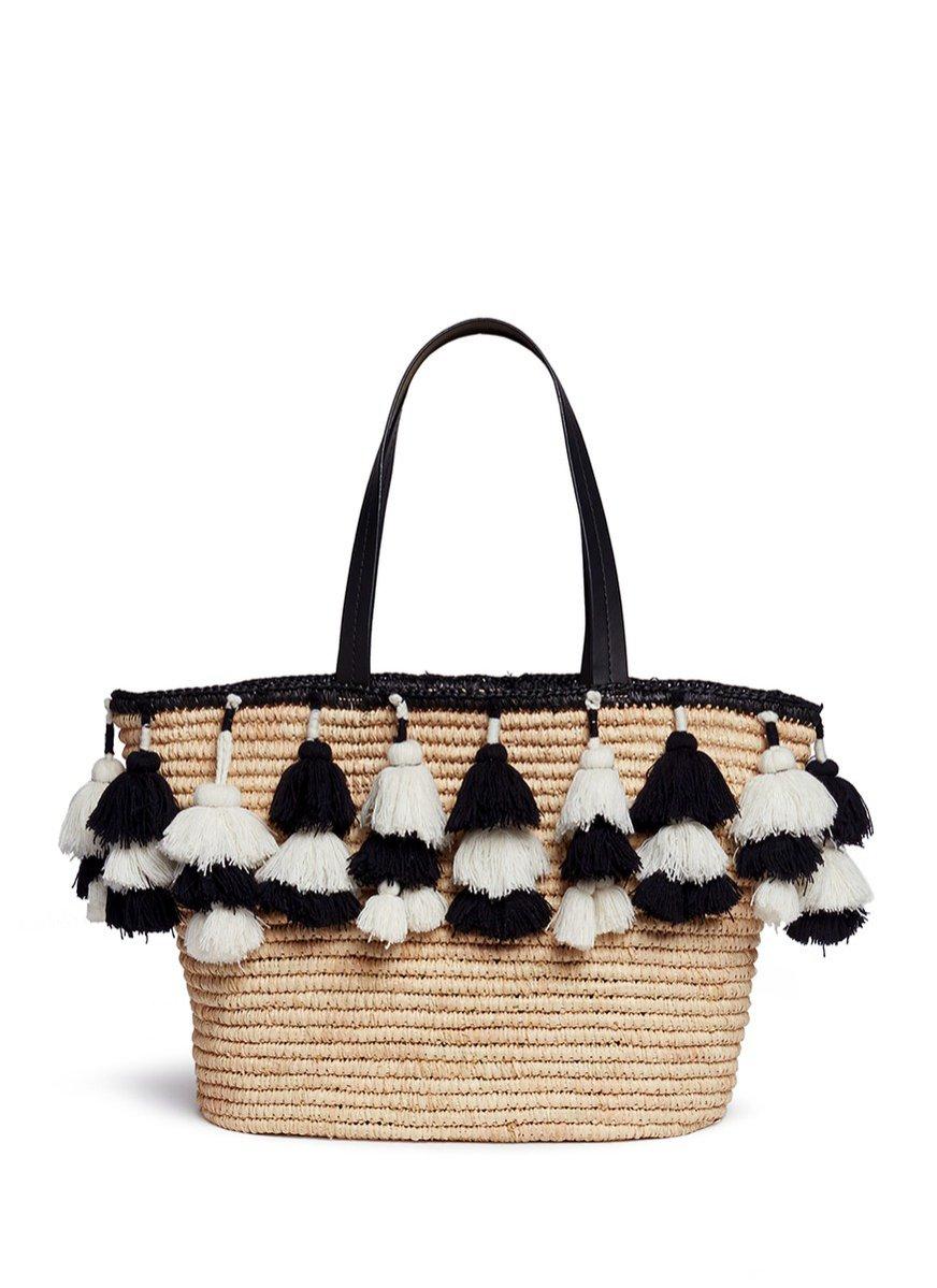 Słomiana torba, Alice + Olivia, 285 funtów