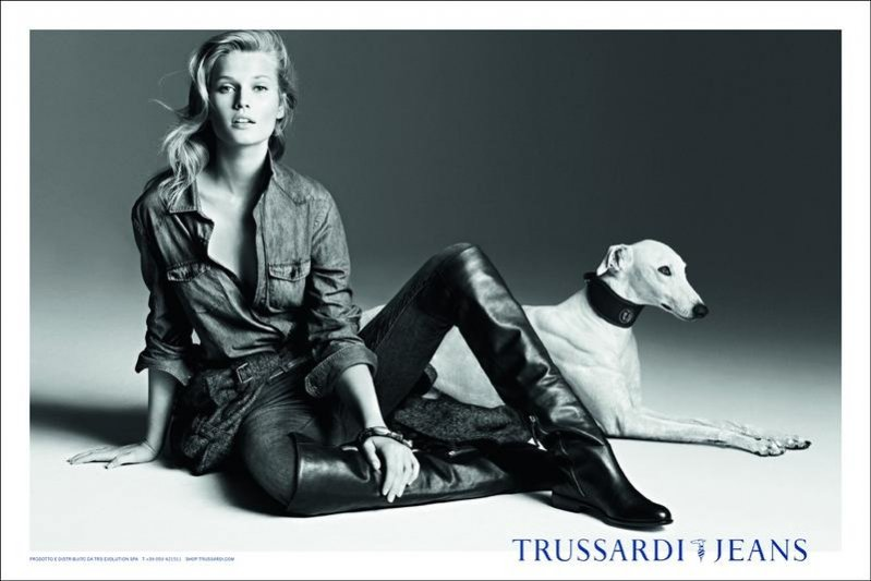 Kampania Trussardi Jeans jesień zima 2012/13