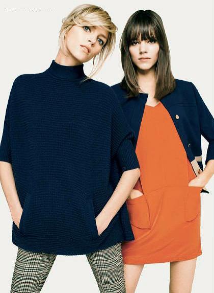 Anja Rubik i Freja Beha w kampani H&M jesień 2011