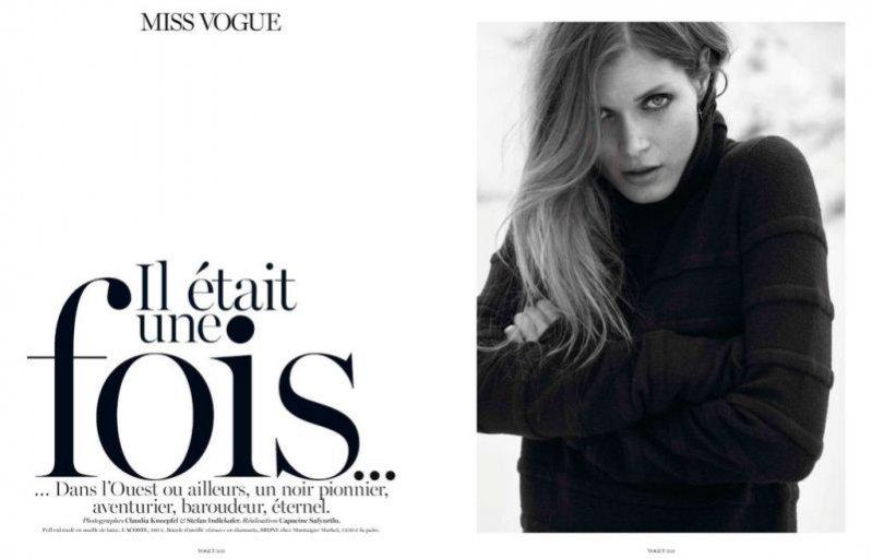 Małgosia Bela w Vogue Paris