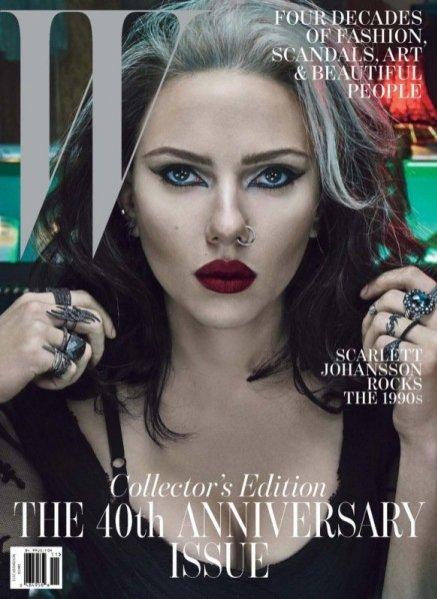 Scarlett Johannson na okładce W Magazine