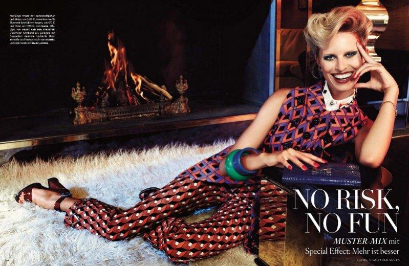 Karolina Kurkova w sesji dla Vogue Germany