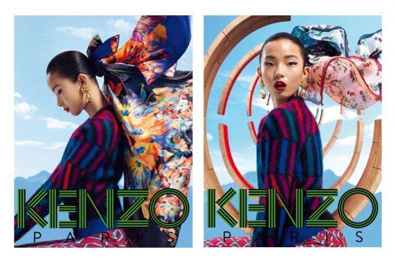 kampania Kenzo Acessories jesień zima 2012/13