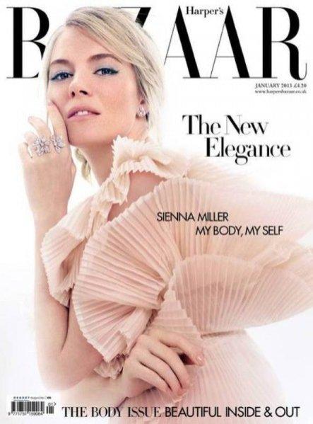 Sienna Miller dla Harper's Bazaar