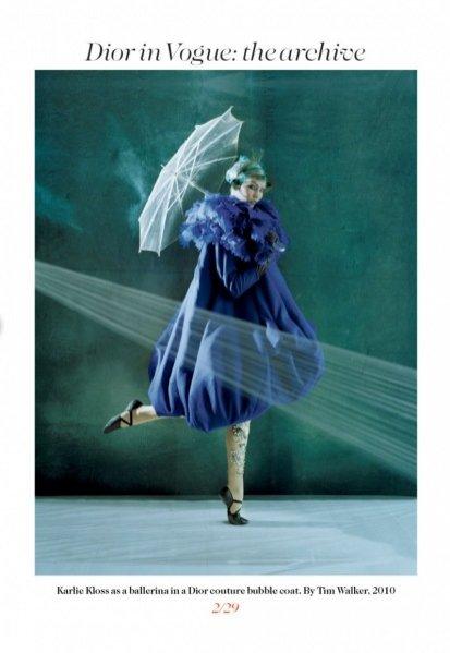 Archiwum Diora w Vogue UK
