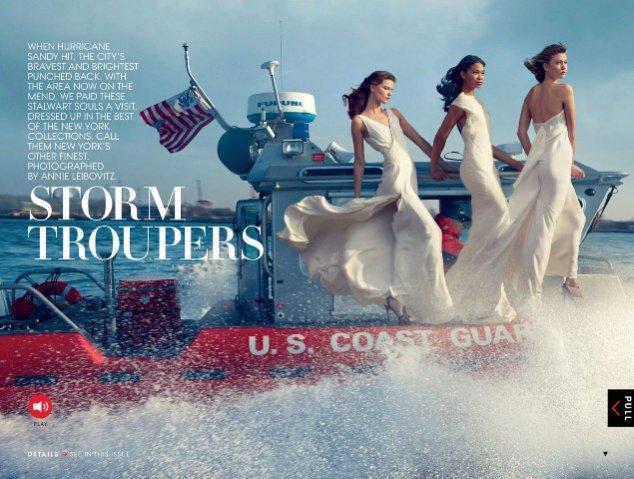 lutowe wydanie Vogue US