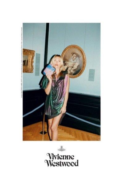 Wiosenna kampania Vivienne Westwood z udziałem Kate Moss
