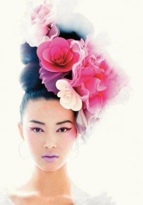 PRZEPIĘKNA SESJA BEAUTY W LUTOWYM VOGUE CHINA