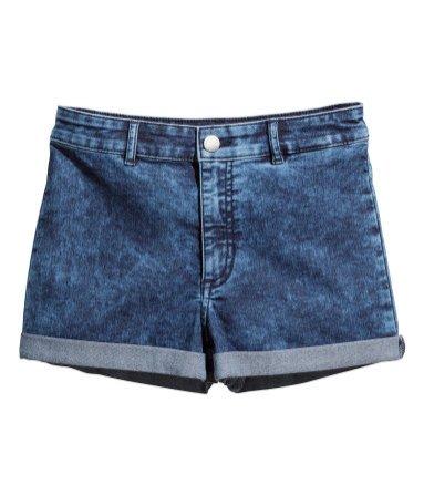 1. Szorty High waist H&M, 59,90 PLN