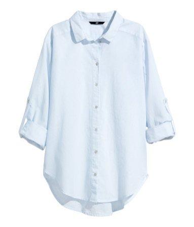 1. Bawełniana koszula H&M, cena: 79, 90 pln