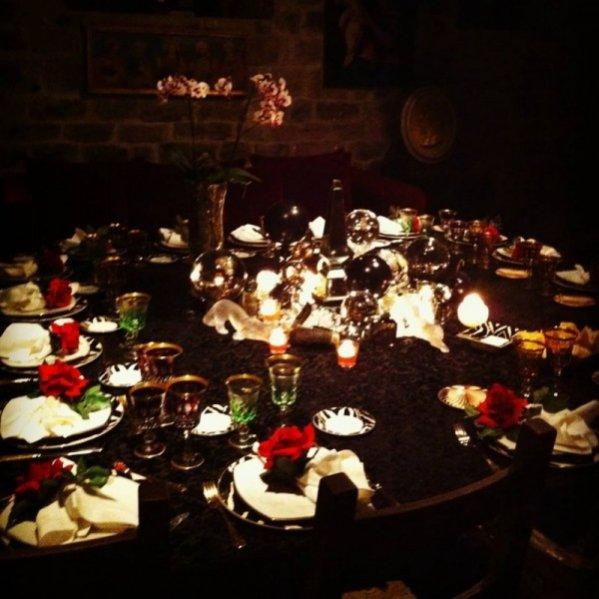 urodzinowa kolacja Magdaleny Frąckowiak