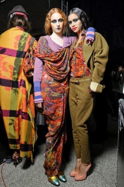 Kulisy pokazu Vivienne Westwood