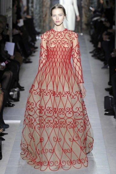 Valentino couture wiosna 2013