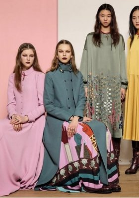 VALENTINO READY-TO-WEAR JESIEŃ ZIMA 2017