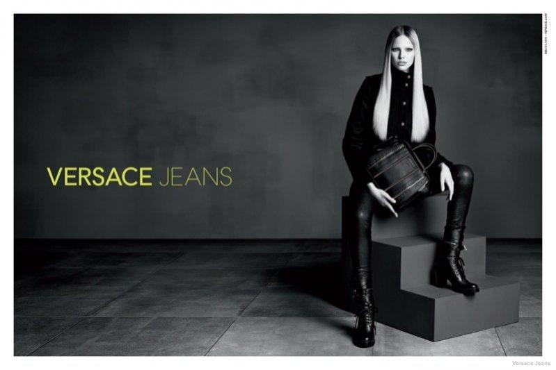 1. Versace Jeans - kampania jesień zima 2014/2015