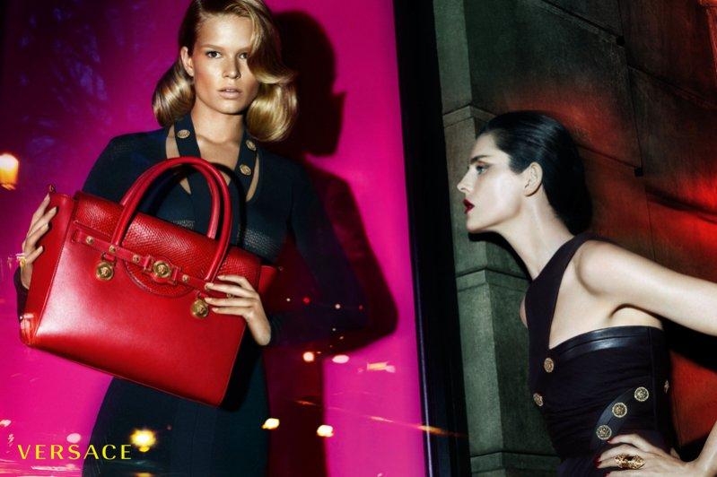 1. Versace - kampania jesień zima 2014/2015