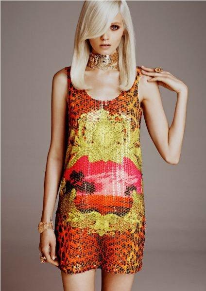 lookbook kolekcji Versace dla H&M