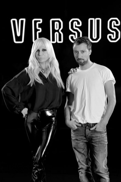 Donatella Versace i Anthony Vaccarello