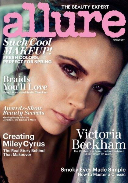 1. Victoria Beckham w Allure Magazine, marzec 2014