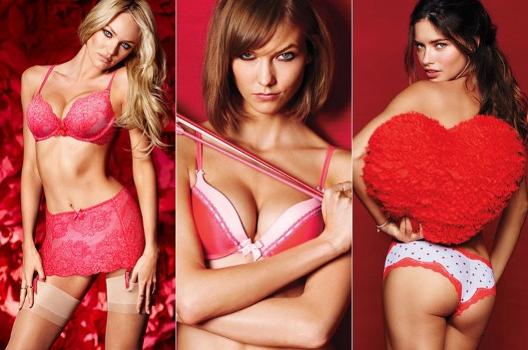 1. Walentynkowa kolekcja Victoria's Secret