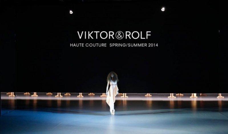 1. Viktor&Rolf - kolekcja haute couture wiosna lato 2014