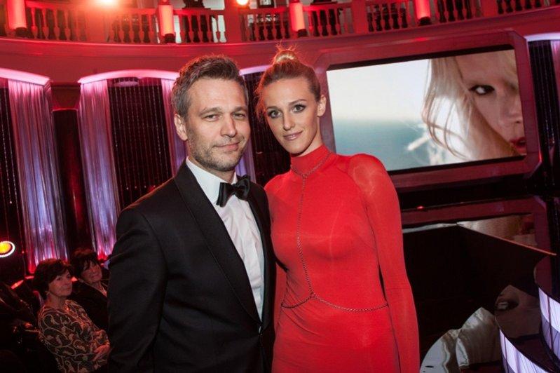 Michał i Aleksandra Żebrowscy na gali Viva! Najpiękniejsi 2012