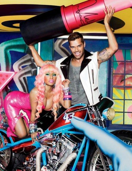 Nicki Minaj i Ricky Martin w kampanii MAC Viva Glam