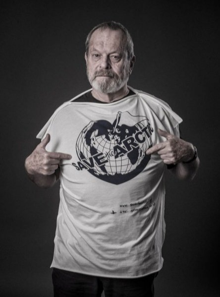 Terry Gilliam w kampanii t-shirtów