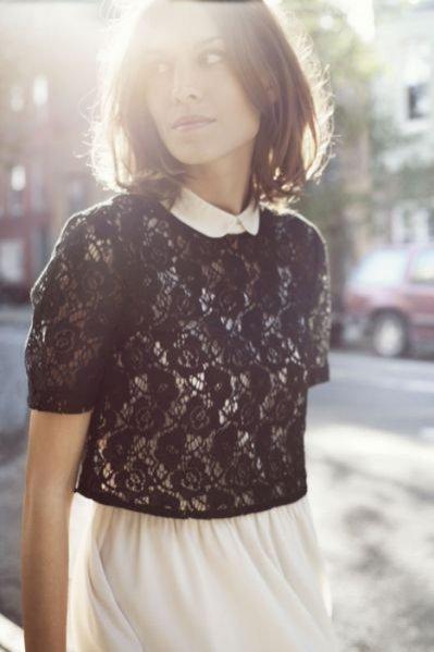 Alexa Chung w kolekcji Vero Moda na sezon wiosna lato 2012