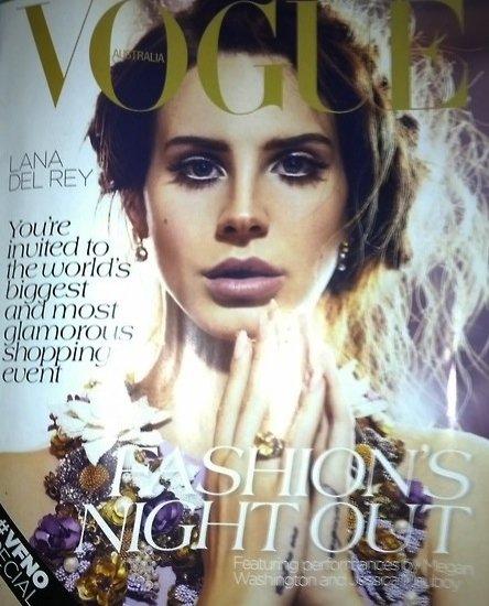 Lana Del Rey w Vogue Australia