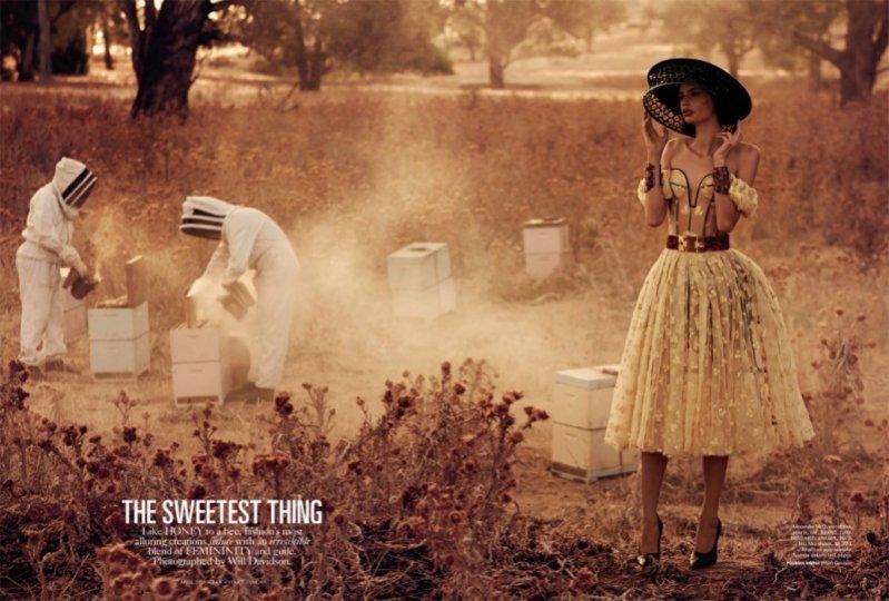 The Sweetest Thing - edytorial w kwietniowym numerze Vogue Australia