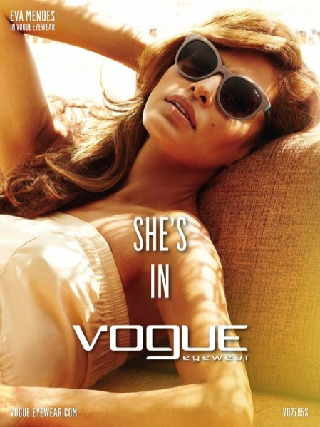 Kampania Vogue Eyewear wiosna lato 2013