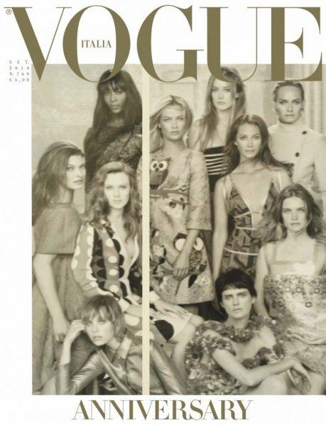 50. modelek na 50-lecie Vogue Italia