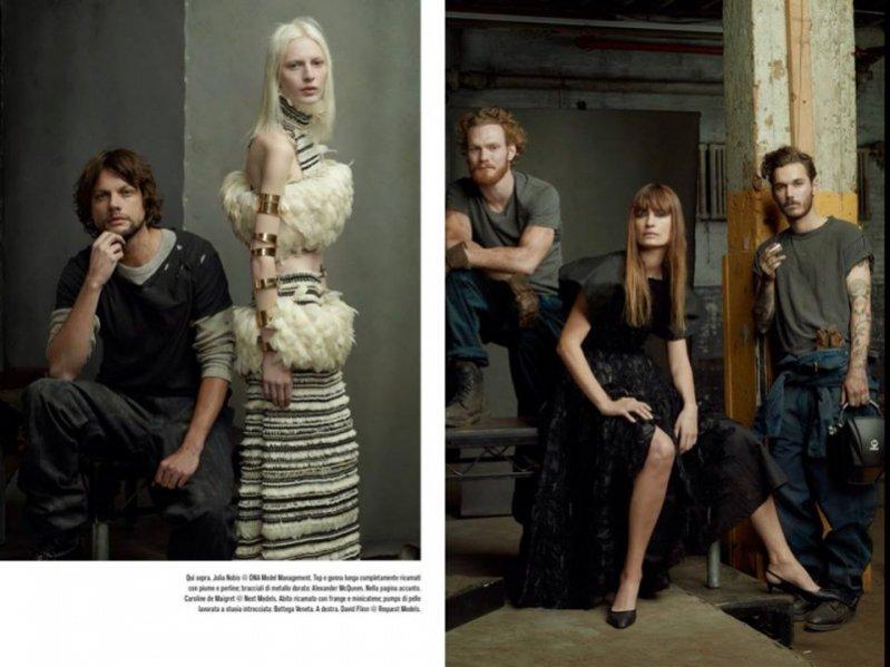 1. The Collections - Vogue Italia, styczeń 2014