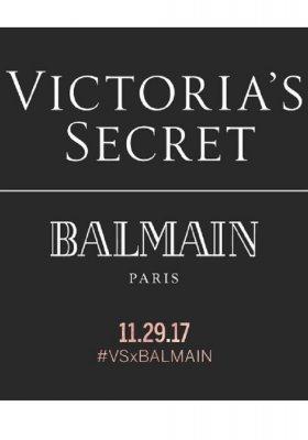 VICTORIA'S SECRET X BALMAIN: NOWA KOLABORACJA!