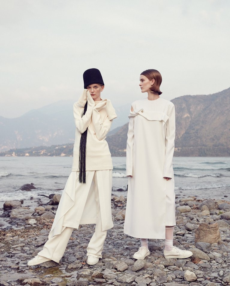 Weronika Kulas i Erin Roesler w Vogue Portugal