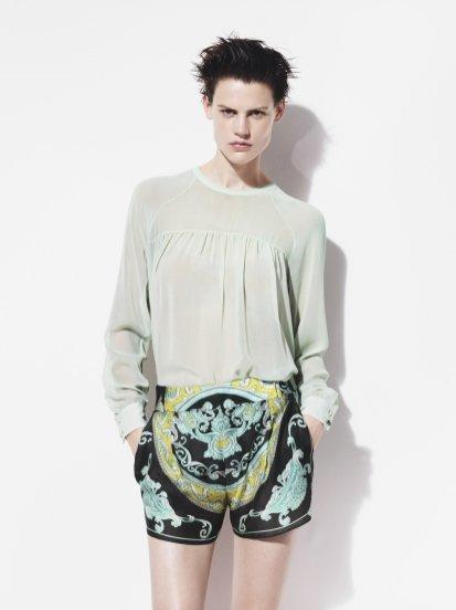 Saskia de Brauw w kampanii Zara na sezon wiosna lato 2012