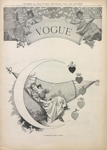 1. Okładka z 1893 roku autorstwa Harry'ego McVickara