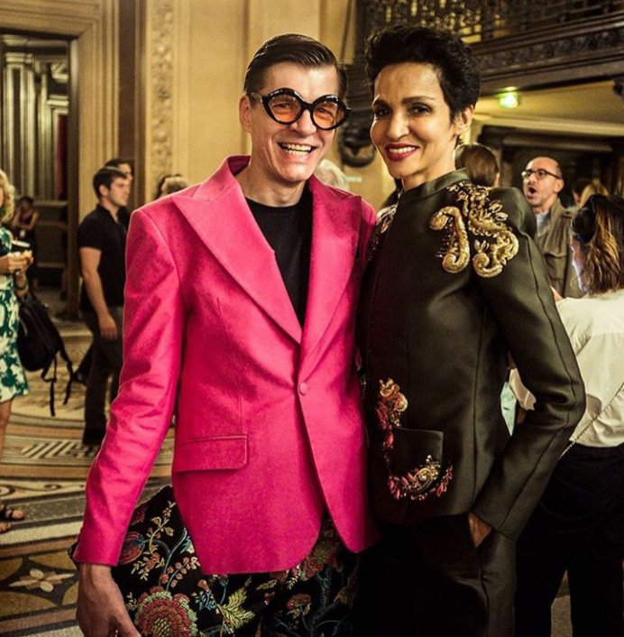Paris Fashion Week Haute Couture: Adam Leja i Farida Khelfa