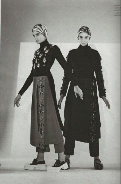 Sesja W Magazine, wrzesień 2012