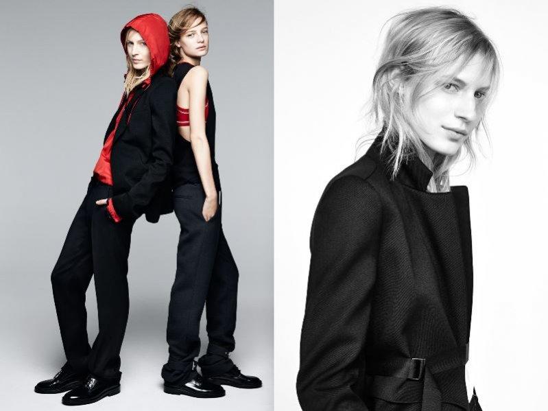 1. Zara - kampania jesięń zima 2014/2015