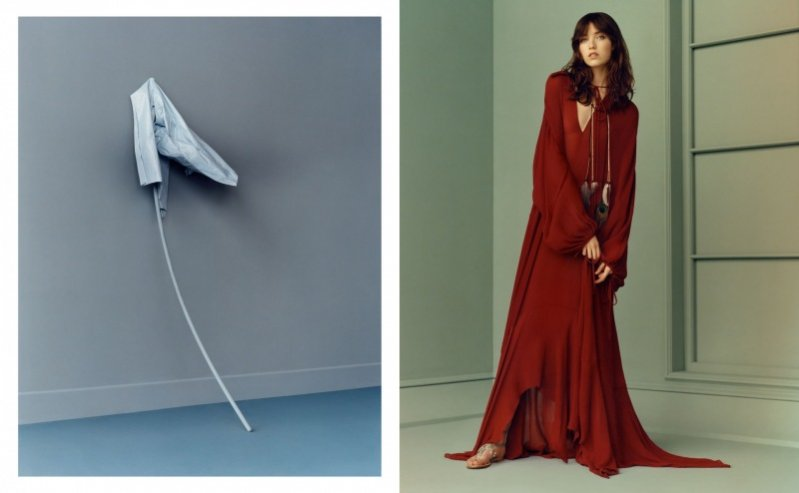 1. Zara - kampania wiosna lato 2015