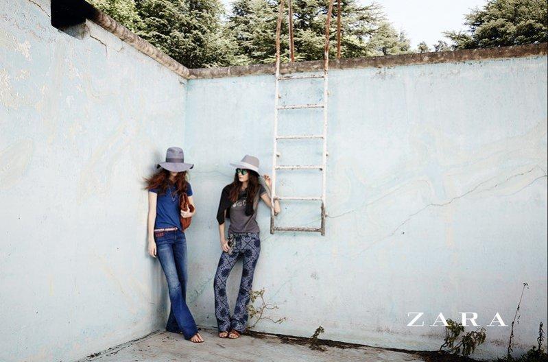1. Kampania Zara TRF wiosna lato 2014