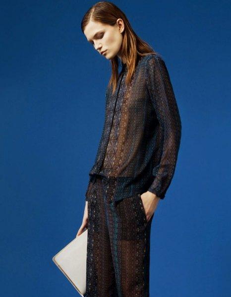 Kasia Struss w marcowym lookbooku marki Zara