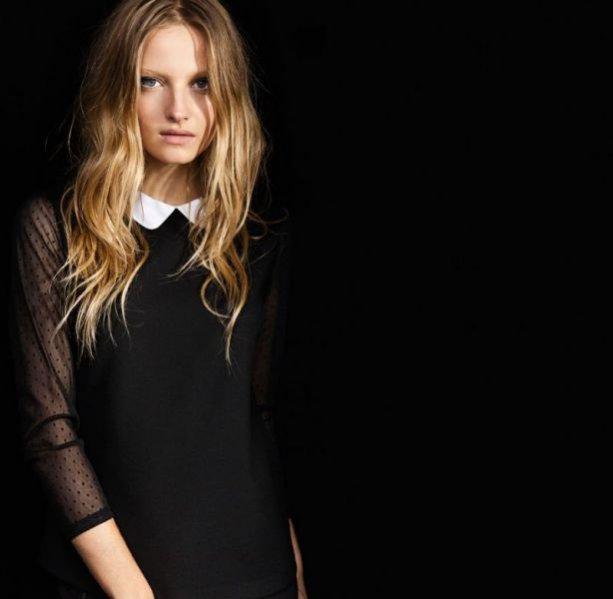 Kolekcja Evening Zara TRF jesień zima 2011