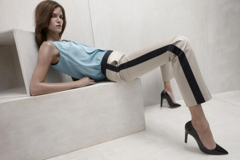 Kasia Struss w kampanii reklamowej Hugo Boss wiosna lato 2012