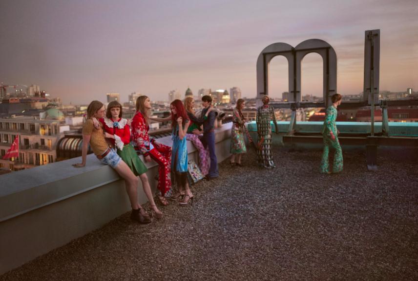 1. Gucci - kampania wiosna lato 2016
