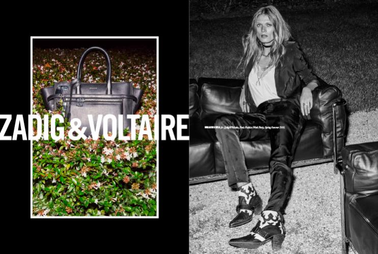 1. Małgosia Bela twarzą kampanii Zadig&Voltaire wiosna lato 2016
