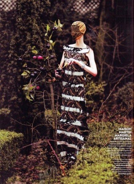 Zuzanna Bijoch w kwietniowym Vogue Ukraine